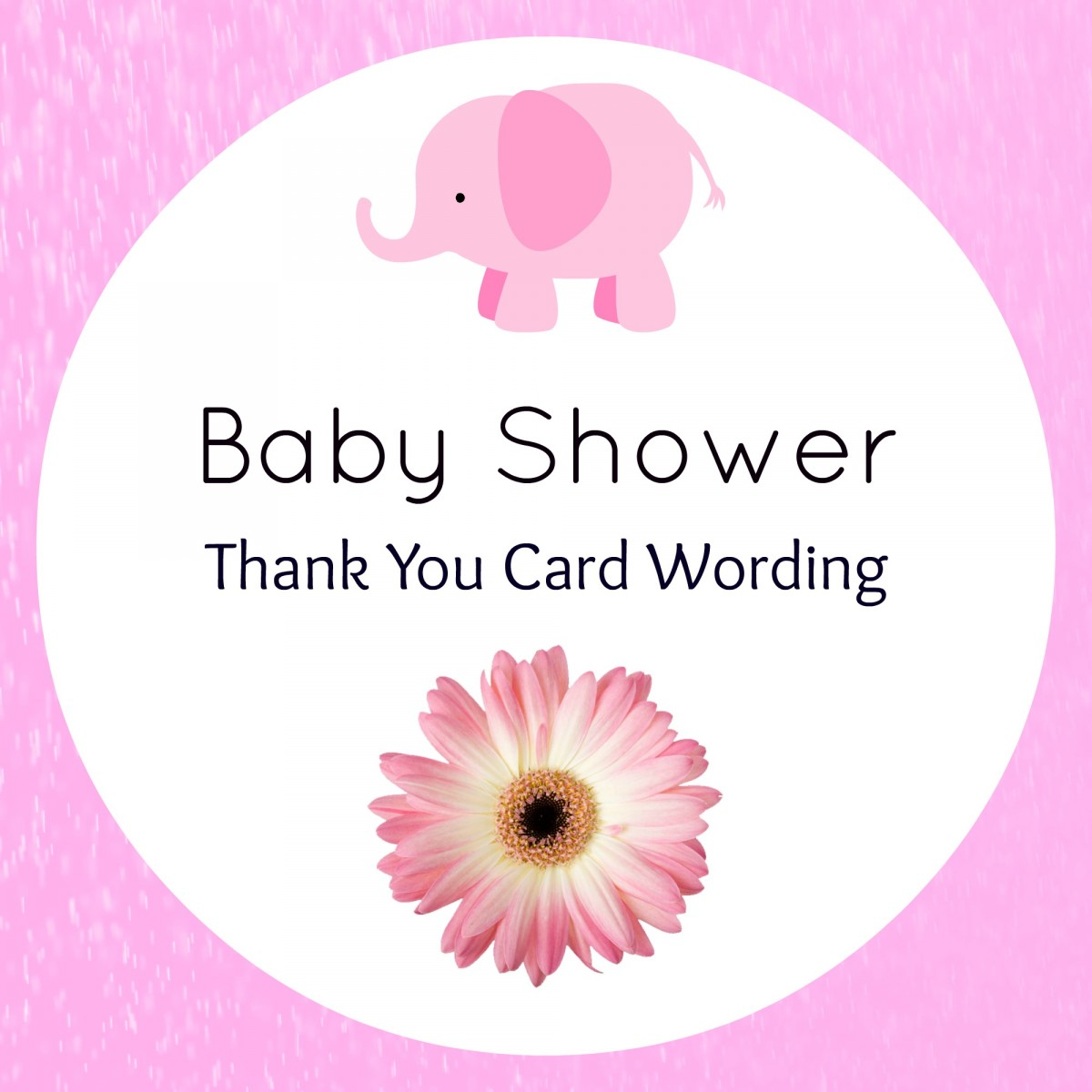 baby shower thank you wording hostess confetti bliss