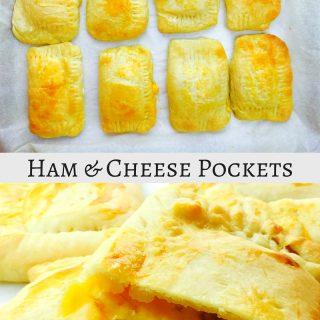 Ham and Cheese Hot Pockets