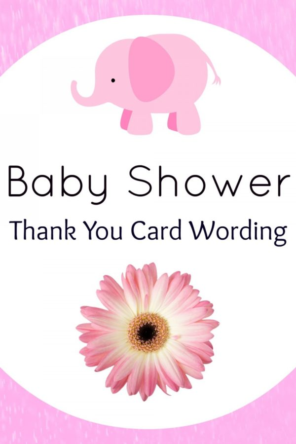 Baby Shower Thank You Card Wording