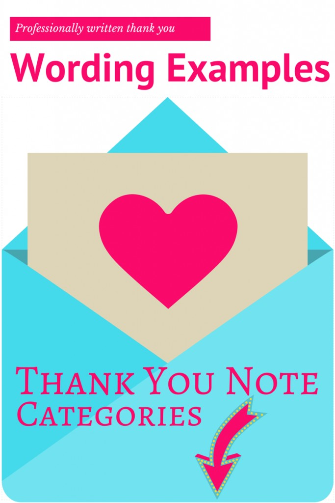 Thank You Note Wording Examples | www.confettiandbliss.com