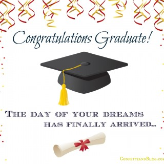 Graduation Card Wording