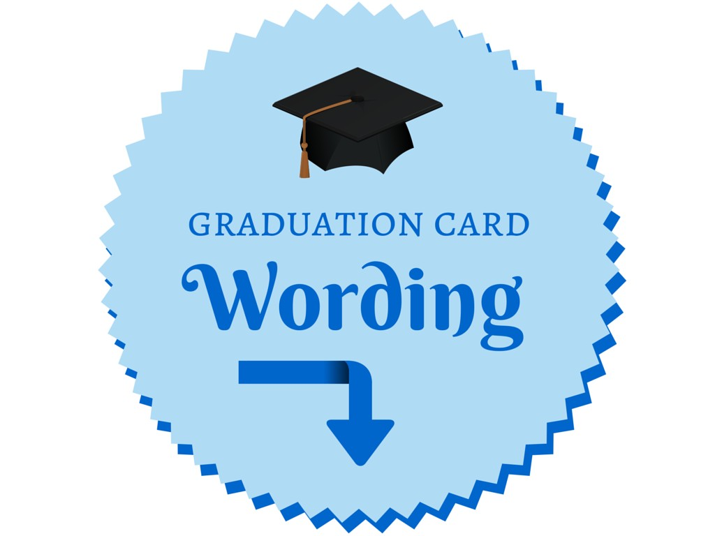 Graduation Card Wording Confetti Bliss