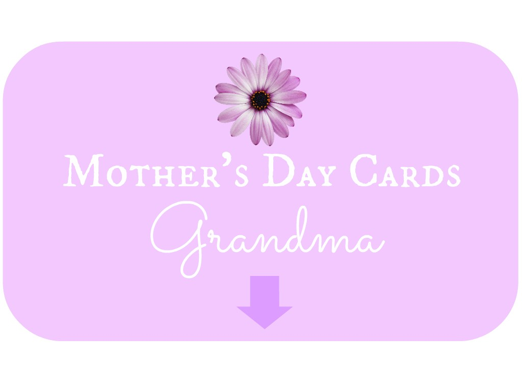 Mother's Day Cards for Grandma