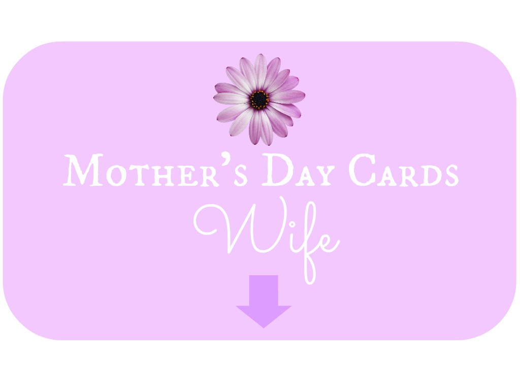 Mother's Day Card for Wife