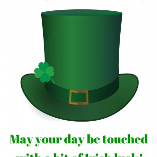St. Patrick's Day Lucky Hat Printable