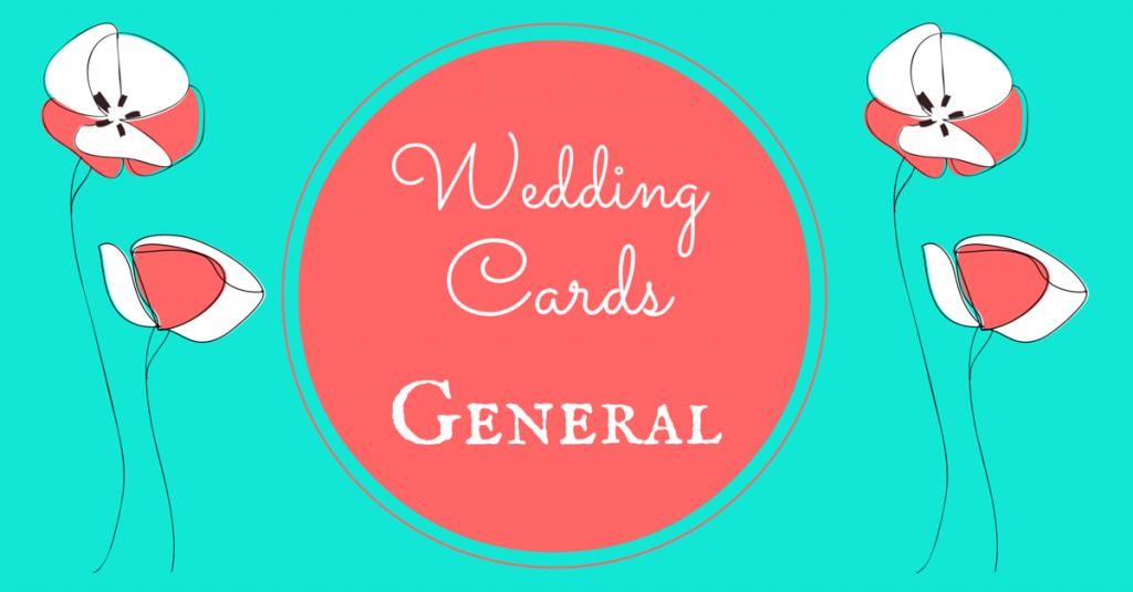 Wedding Cards General