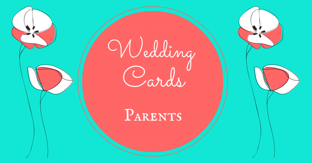Wedding Cards Parents