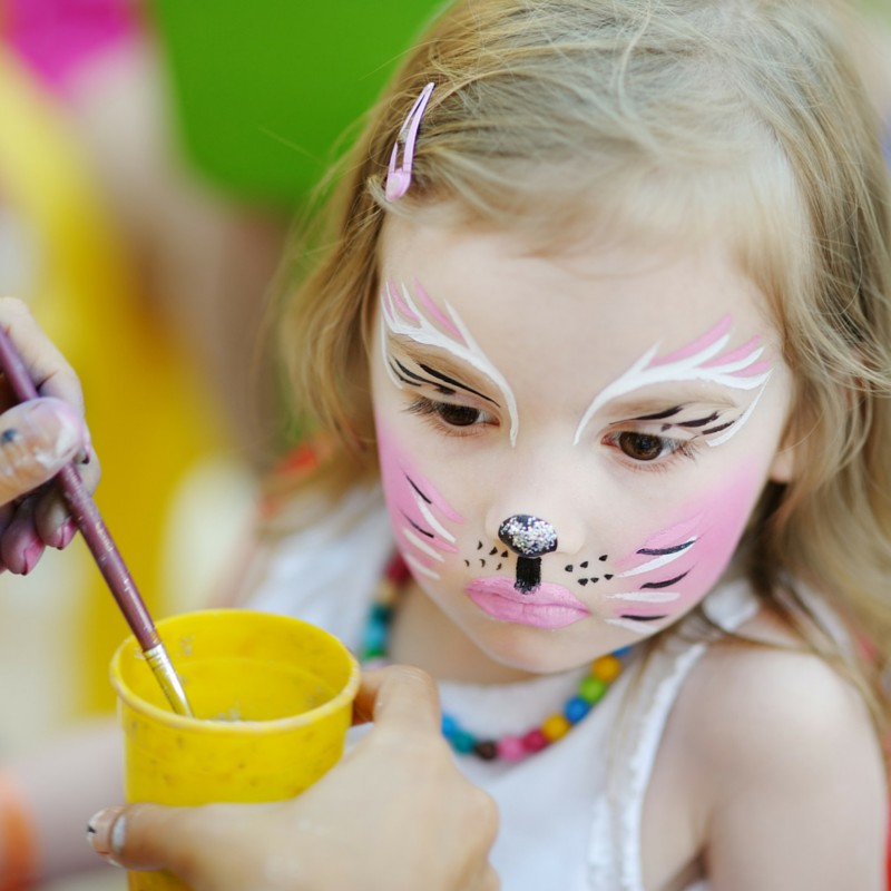 How to Plan a Party: Face Painting