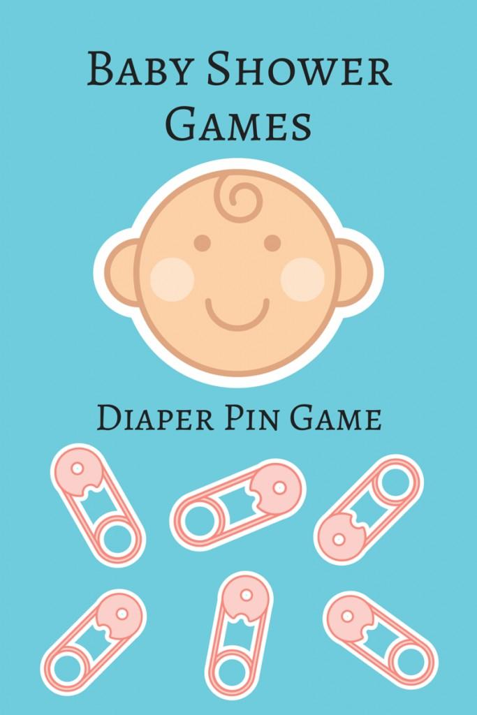 Fun Baby Shower Games: Diaper Pin Game