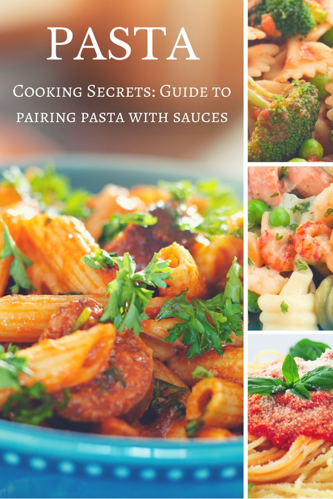 Cooking Secrets: Perfect Pairing of Pasta and Sauces | Read this before preparing your next pasta dish! | Learn how to make expert pairings the Italian way. | confettiandbliss.com
