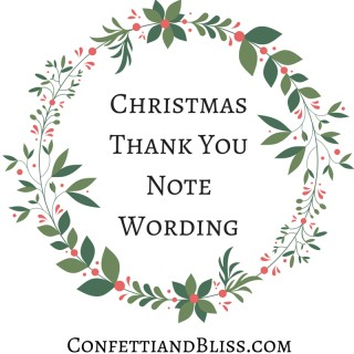 Christmas Thank You Notes: Christmas Dinner