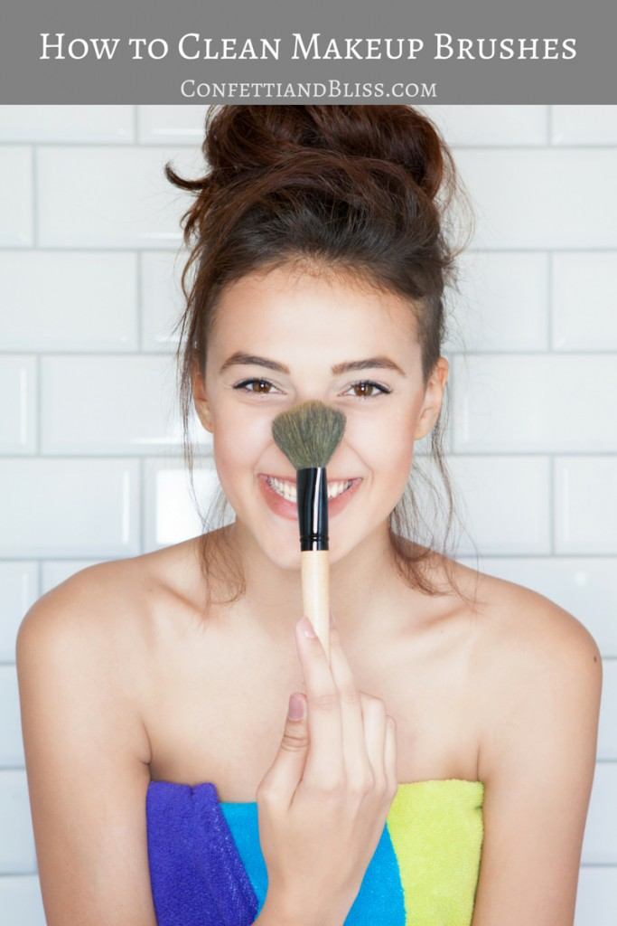 How to Clean Your Makeup Brushes: Tips You Need | confettiandbliss.com
