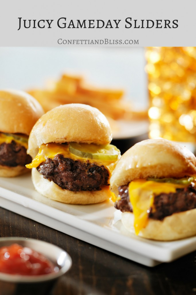 Juicy Gameday Sliders | confettiandbliss.com