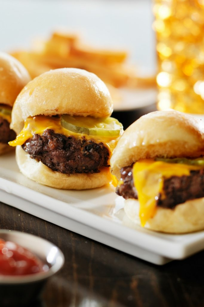 Juicy Cheeseburger Sliders