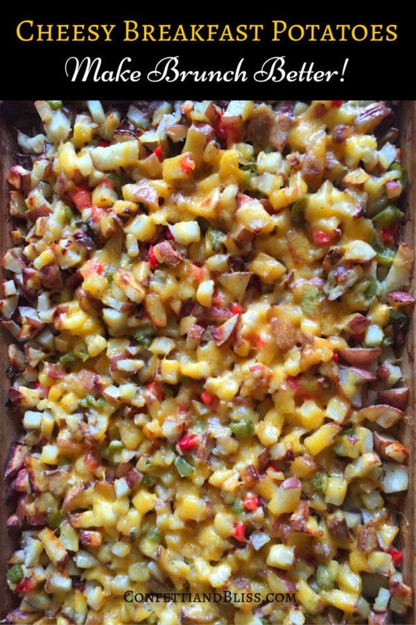 Cheesy Potatoes | How to Make Breakfast Potatoes