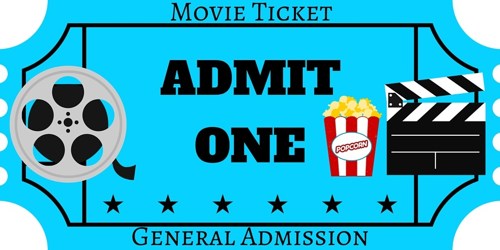 FREE Printables – Movie Ticket Template