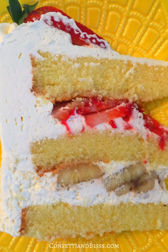 How to Make a Fruit Basket Cake | How to Make Buttermilk Cake