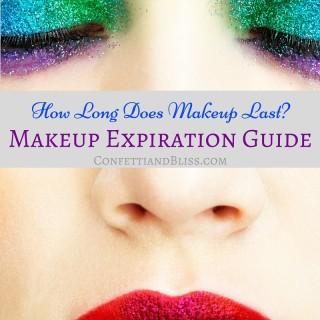 How Long Does Makeup Last?   Makeup Expiration Guide
