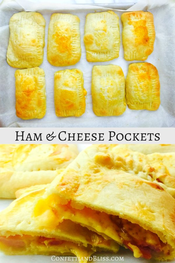Ham and Cheese Hot Pockets