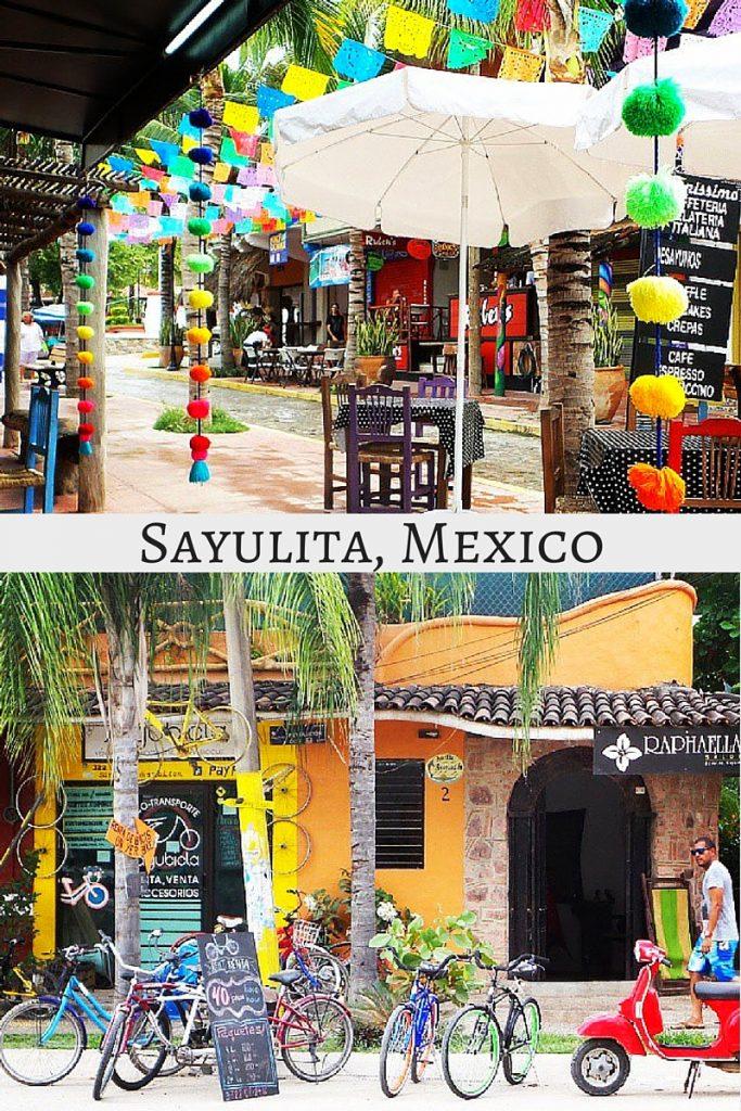 Bohemian Style Beach Town, Sayulita, Mexico