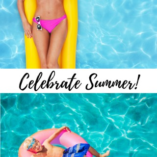 Celebrate summer in style with adorable pool floats!