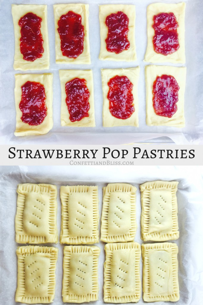 Frosted Strawberry Pop Pastries | Copycat Recipe for Homemade Pop Tarts