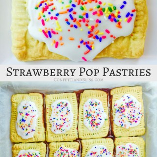 Homemade Strawberry Pop-Tarts | A Copycat Recipe