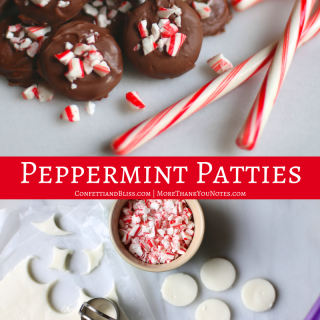 Peppermint Patties | Homemade Goodness for the Holidays