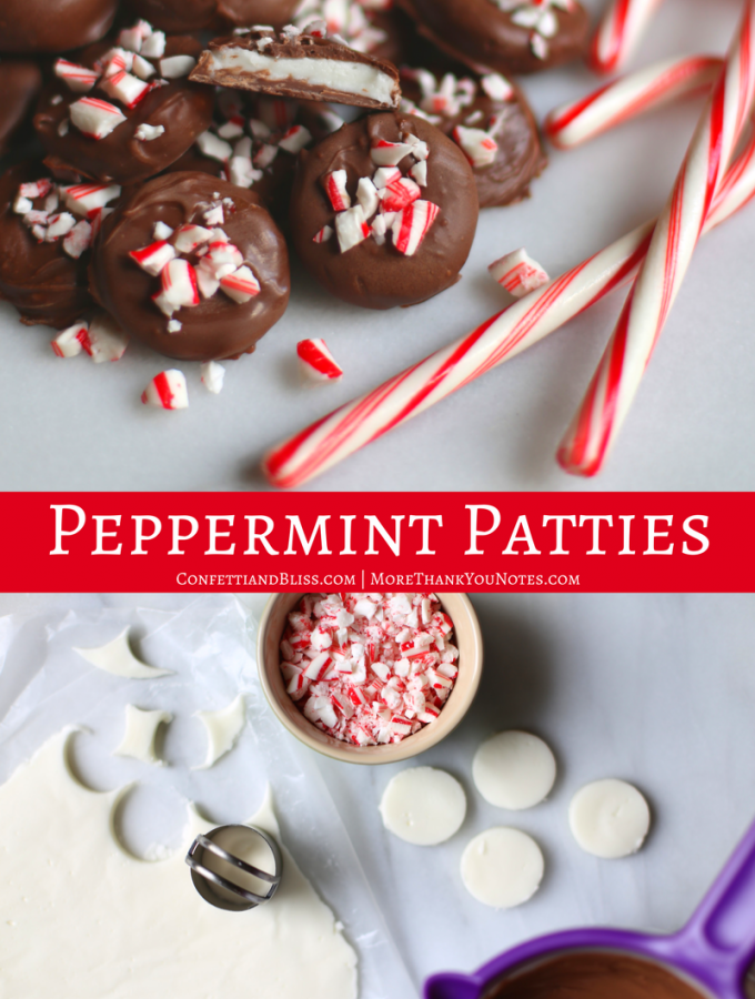 Homemade Peppermint Patties for the Holidays