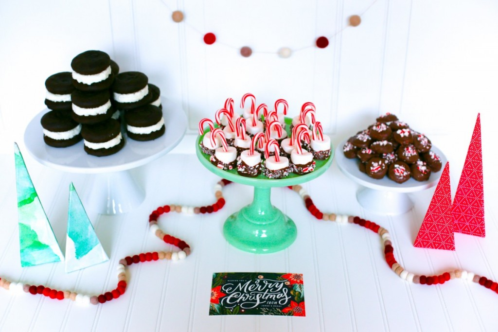Homemade Peppermint Patties and Minted Christmas Cards