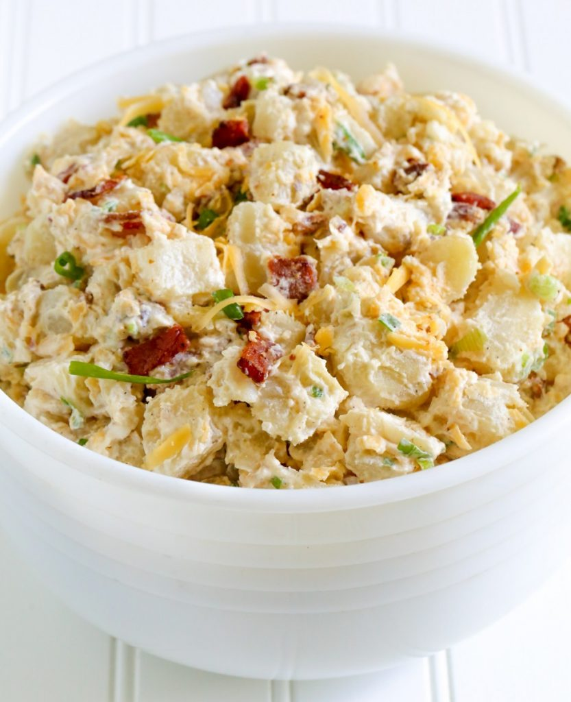 The Best Loaded Baked Potato Salad
