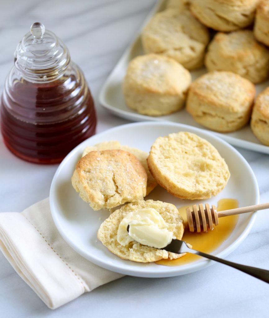 How to Make Whipping Cream Biscuits | Best Southern Biscuit Recipe