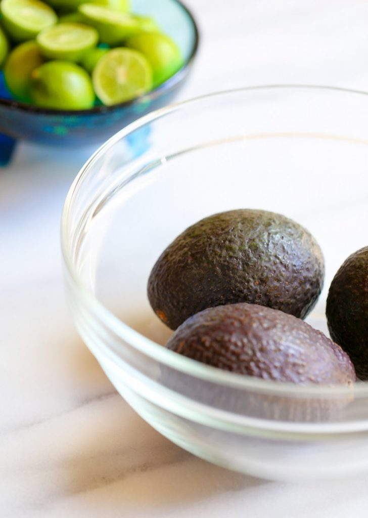 Avocados for Authentic Guacamole Recipe