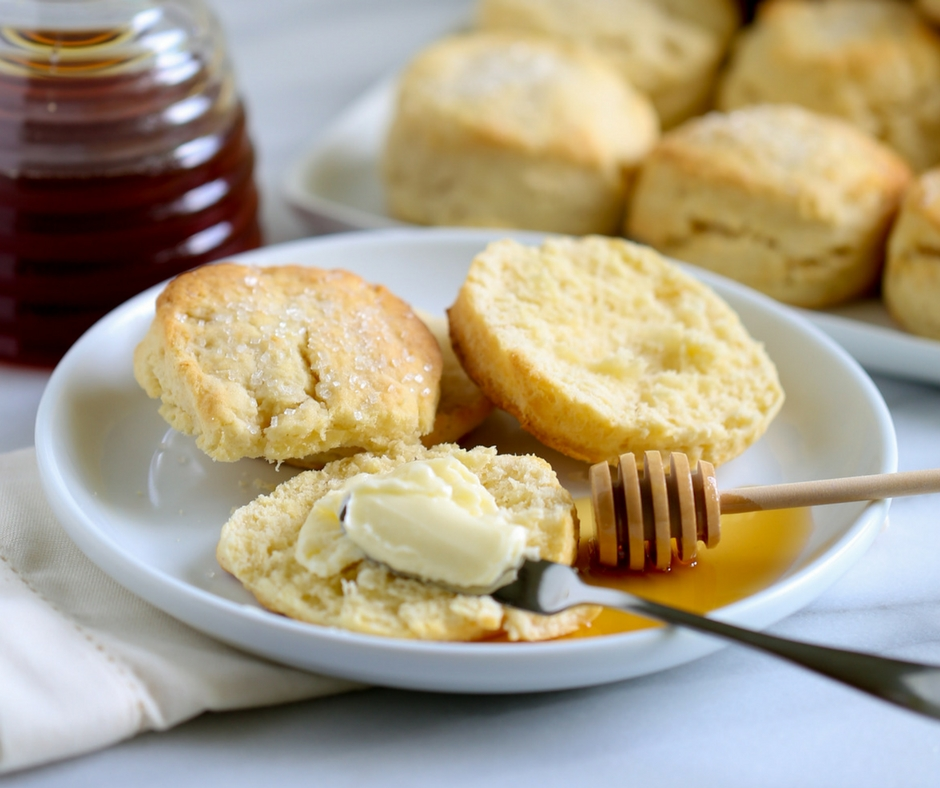 Recipe for Whipping Cream Biscuits | Best Southern Biscuit Recipe
