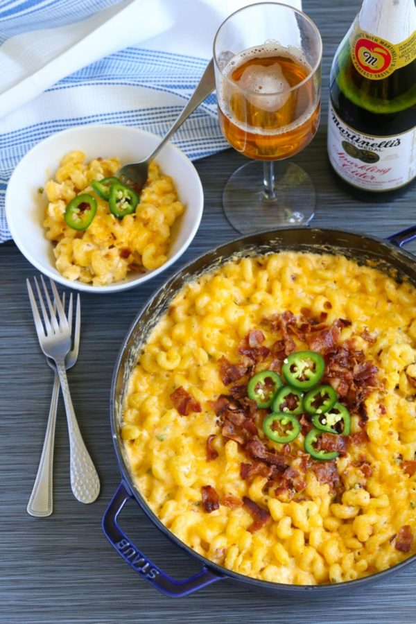Jalapeno Popper Mac and Cheese