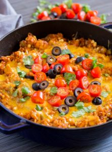 Mexican Chicken And Rice Quick Easy Recipe