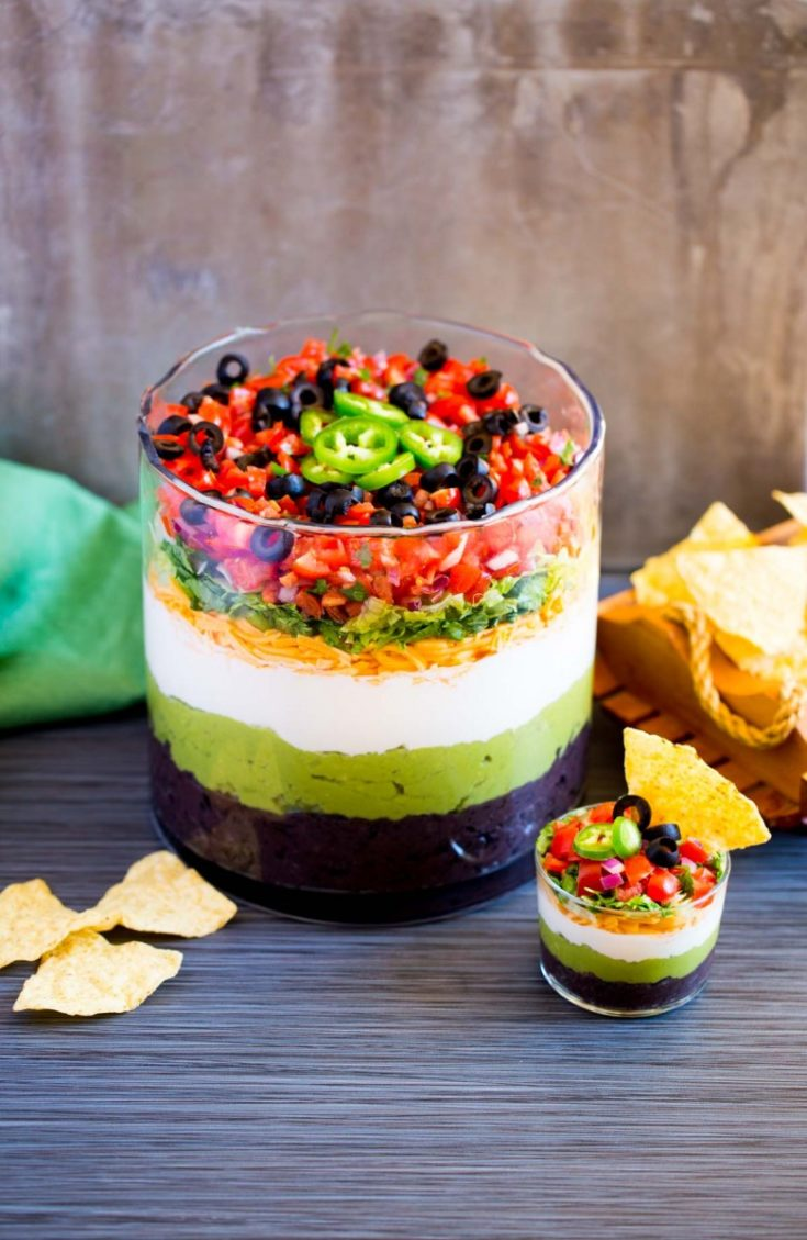 Easy 7-Layer Dip