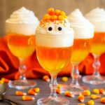Candy Corn Jello Cups
