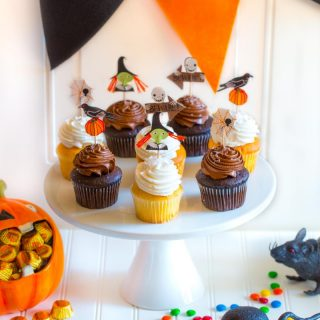 Festive Halloween Party Tablescape