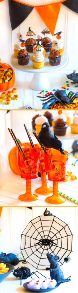 Festive Halloween Party Tablescape Ideas