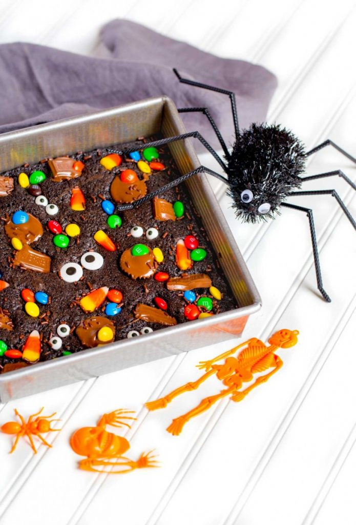 Easy Brownie Recipe for Halloween