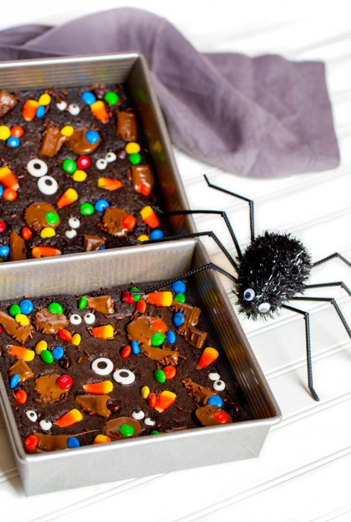 Halloween Brownie recipe from scratch
