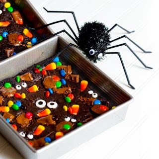Halloween Monster Mash Brownies
