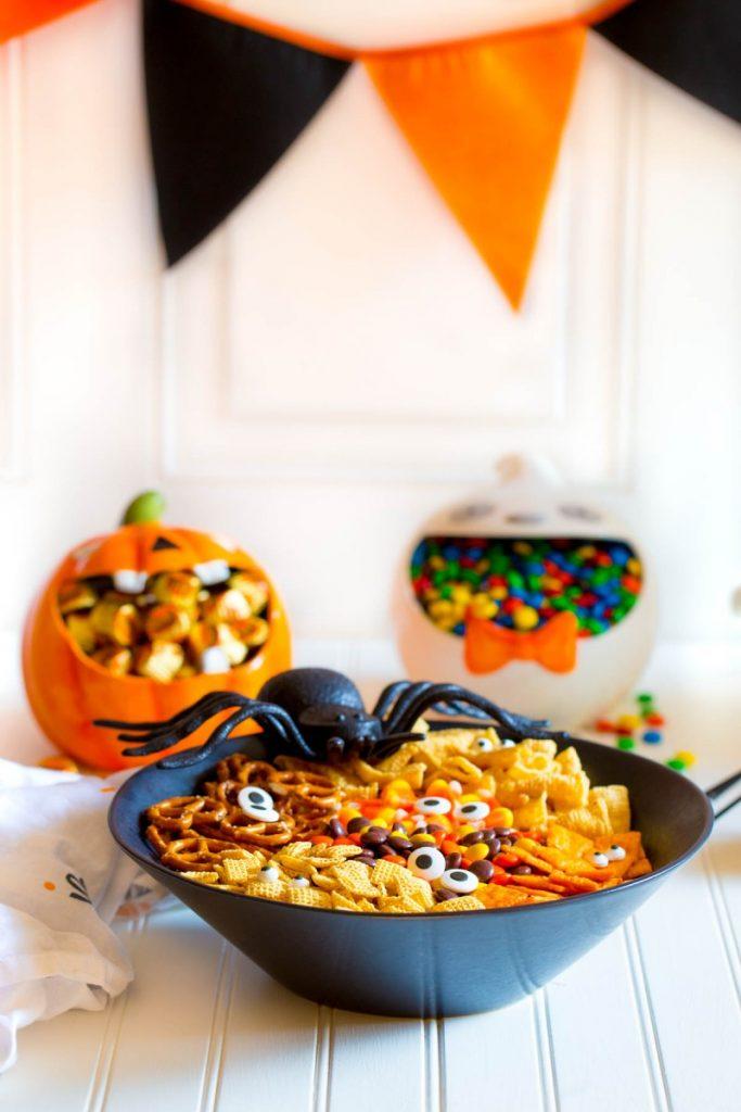 Spooky Halloween Snack Mix