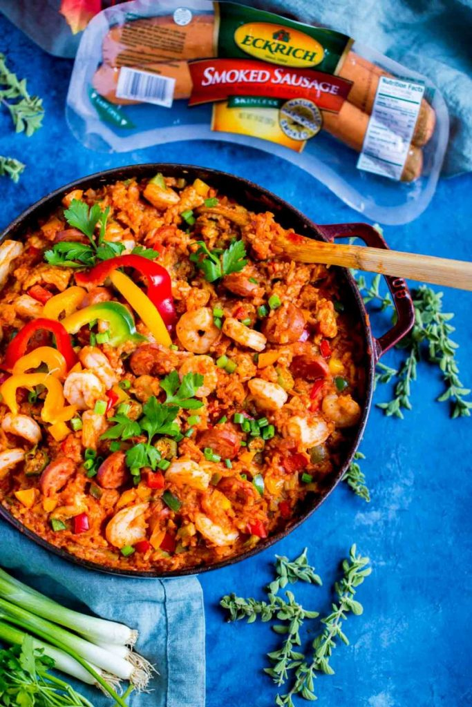 New orleans jambalaya recipe easy one pot meal this yummy jambalaya recipe is a fabulous taste of new orleans what youll love most about preparing new orleans jambalaya is that its an easy one pot forumfinder Image collections