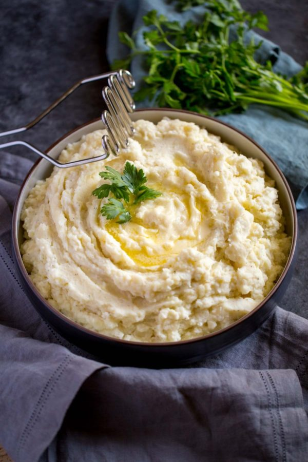 Best Sour Cream Mashed Potatoes