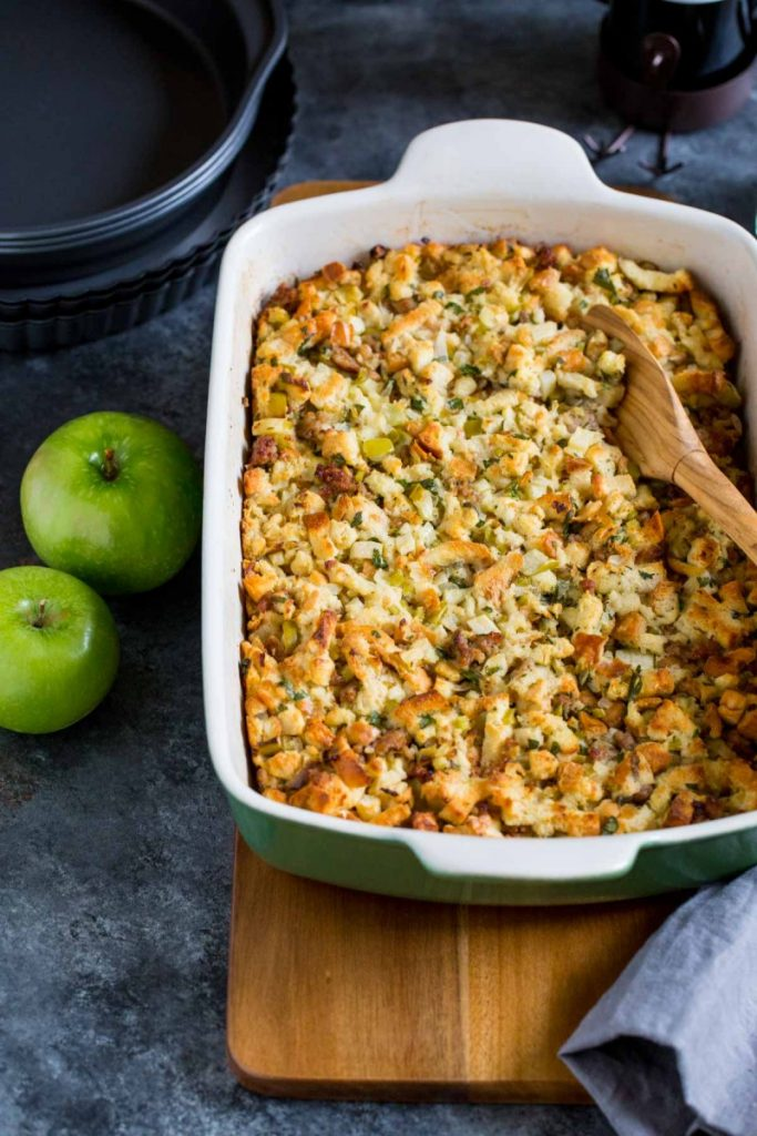 Apple Sausage Stuffing Recipe