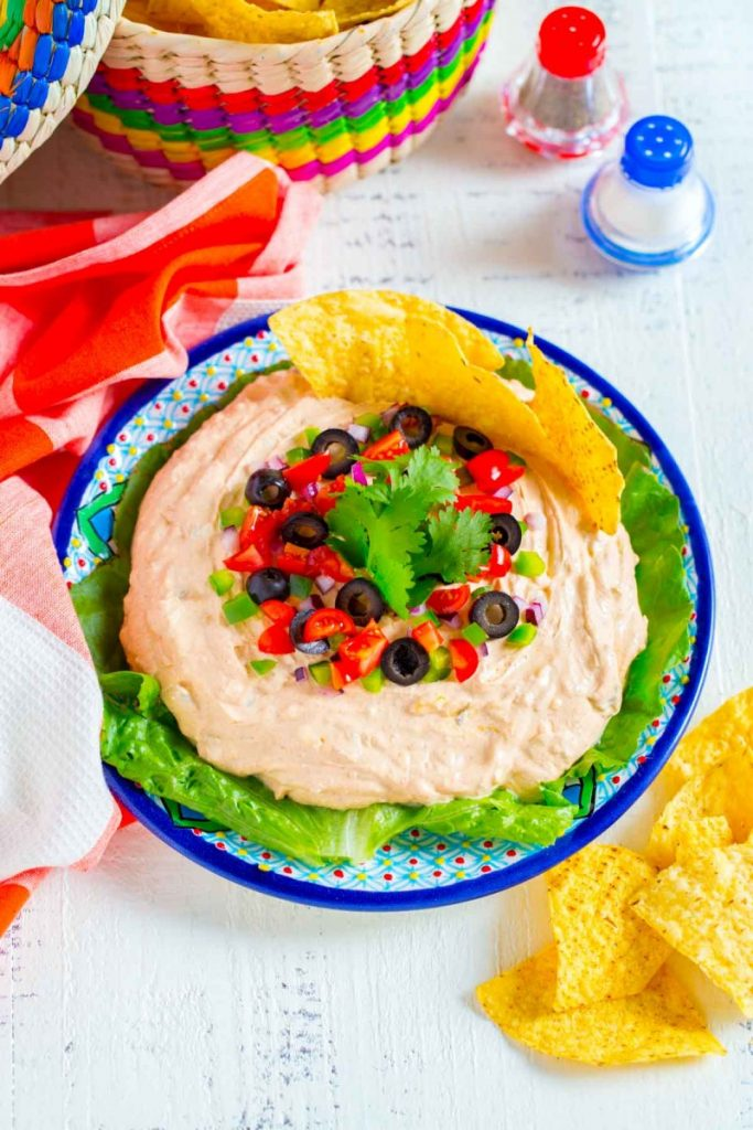 Fiesta Taco Dip with Cream Cheese