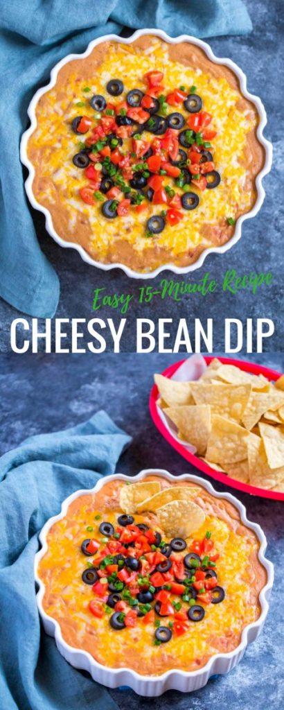 Cheesy Rotel Bean Dip