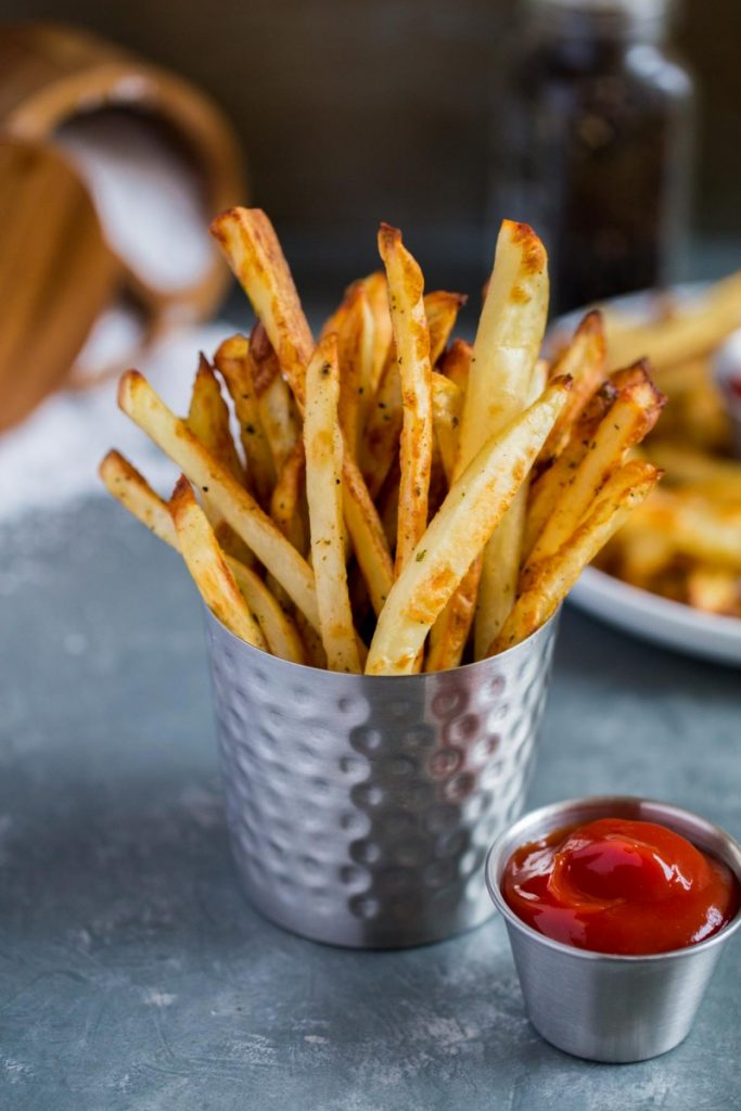 Essential tips for crispy oven baked French fries.